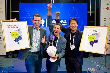 Deliveract wint Horeca Innovation Award