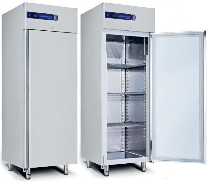 Kopermolen RVS koelkast vrieslast