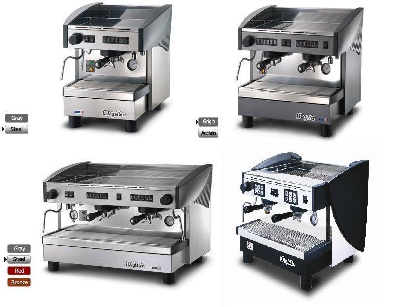 Magister koffiemachines horeca