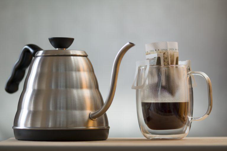 Begood koffiefilter versgebrand