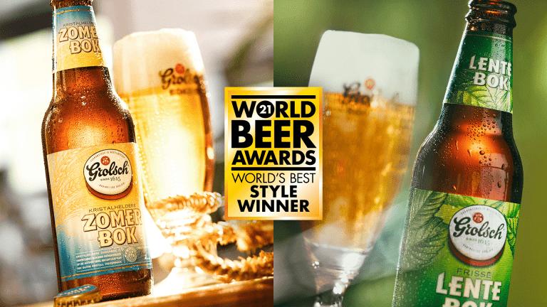grolsch world beer award